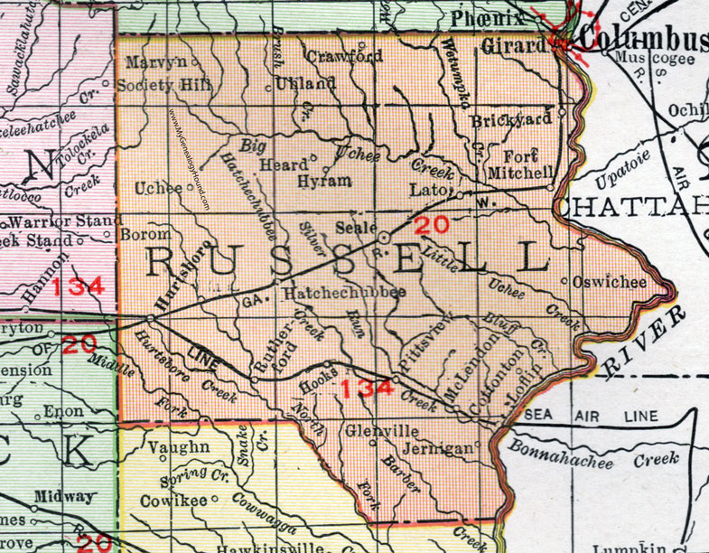 Al County Map on