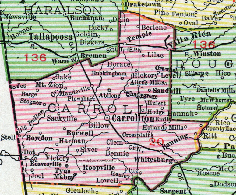 Carroll County, Georgia, 1911, Map, Rand McNally, Carrollton ... on eton georgia map, irwinton georgia map, collins georgia map, arlington georgia map, haralson county georgia map, manchester georgia map, alapaha georgia map, clarkston georgia map, fairmount georgia map, mccaysville georgia map, concord georgia map, fairhope georgia map, cedartown georgia map, shiloh georgia map, box springs georgia map, marshallville georgia map, lancaster georgia map, springfield georgia map, whitesburg georgia map, talking rock georgia map,