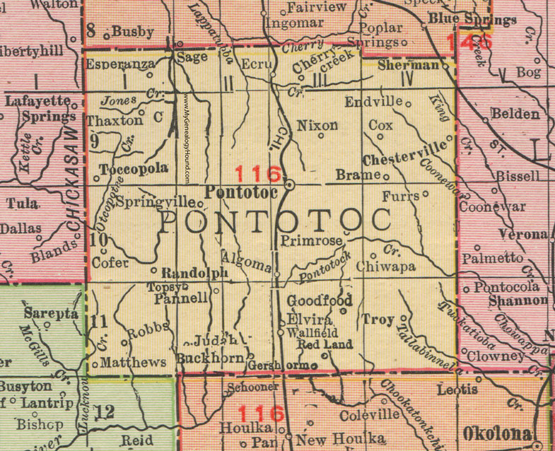 Pontotoc County, Mississippi, 1911, Map, Rand McNally ... on al map, mn map, or map, mo map, pa map, sc map, messrs map, ak map, bshs map, ra map, mr map, aig map, tn map, nc map, dhr map, la map, gh map, cpt map, mississippi county map, adm map,