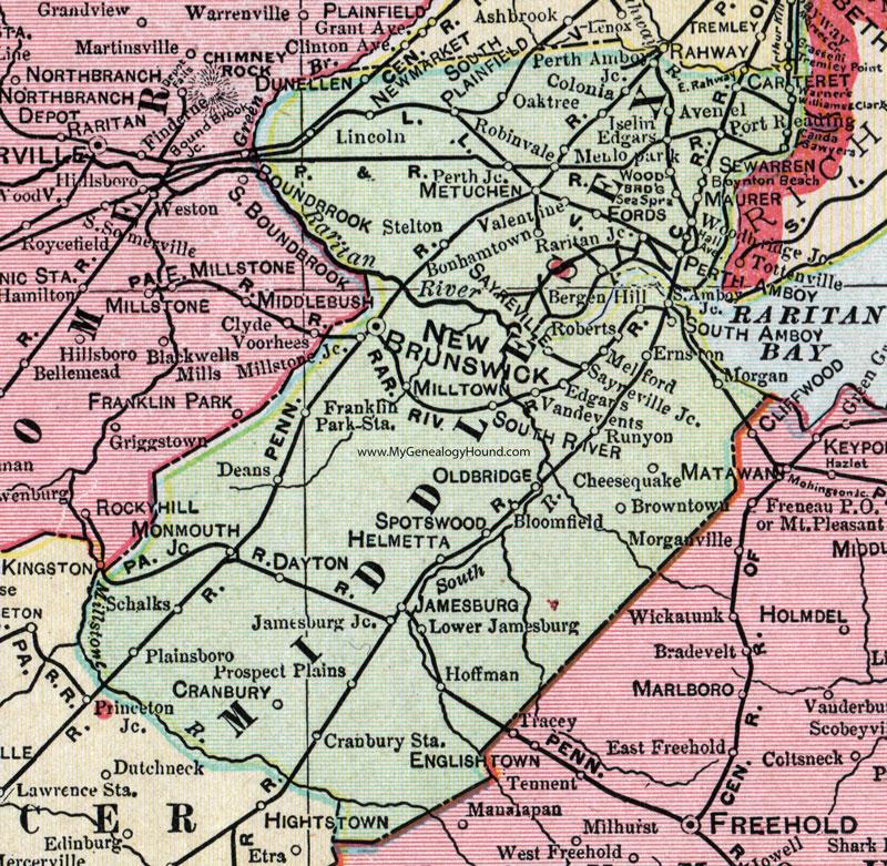 Amboy Map