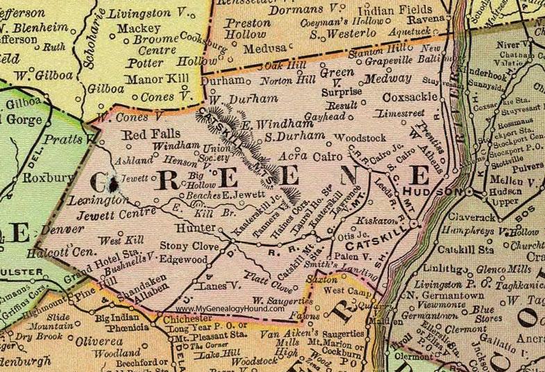 Greene County, New York 1897 Map by Rand McNally, Catskill, NY on edmonton ny map, coeymans ny map, oak hill ny map, new brunswick ny map, burns ny map, redding ny map, glasgow ny map, gallupville ny map, seven lakes ny map, pittsburgh ny map, washington ny map, rockford ny map, oxbow ny map, putnam ny map, mt view ny map, sugar loaf ny map, tryon county ny map, denver ny map, high park ny map,