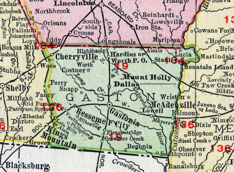 Mount Holly Nc Map 16 8 Punchchris De
