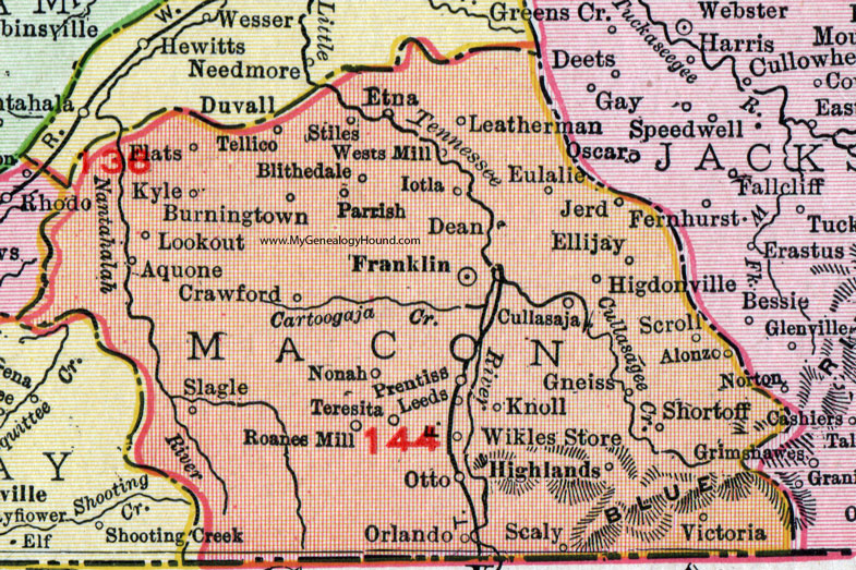 Macon County, North Carolina, 1911, Map, Rand McNally ... on eastern seaboard map, virginia map, georgia map, pennsylvania map, usa map, michigan map, oregon map, montana map, colorado map, indiana map, arkansas map, louisiana map, ohio map, kentucky map, nc map, maryland map, east coast map, illinois map, delaware map, tennessee map, florida map, texas map, arizona map, mid atlantic map, southeast map, minnesota map, new jersey map, missouri map, california map, new york map,