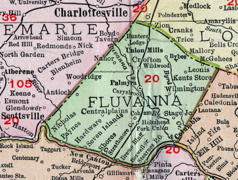 map of the plains states with Va Fluvanna County Virginia Map 1911 Rand Mcnally Palmyra Columbia Crofton on C Charles County Maryland as well File US Great Plains Map furthermore Los Angeles in addition What Are The Major River Systems In India besides Avalon Huntington Beach.
