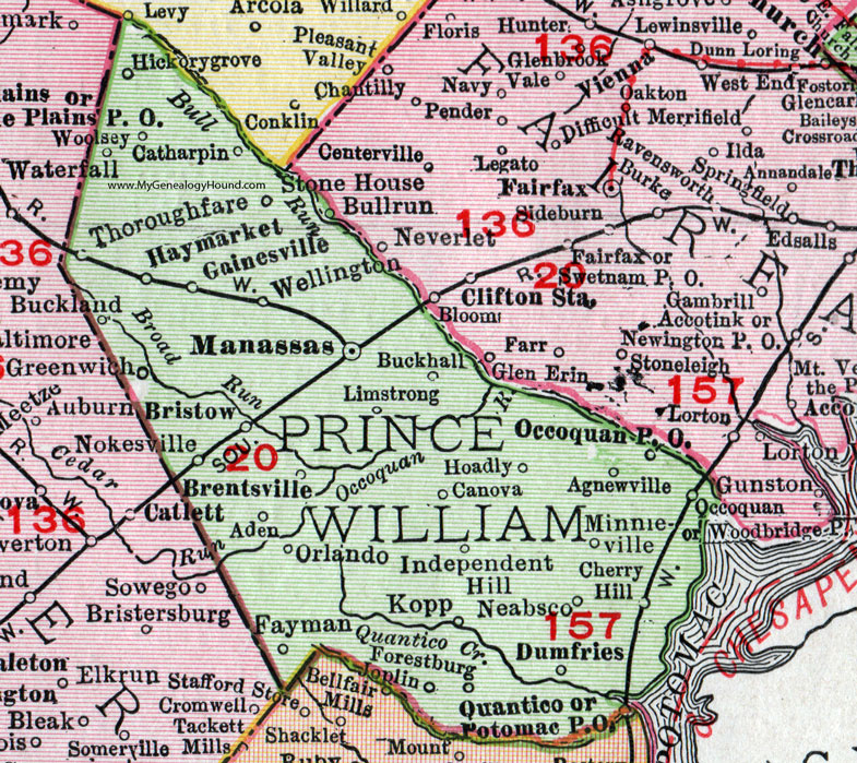 Prince William County Zip Code Map.Prince William County Parcel Map Www Naturalrugs Store
