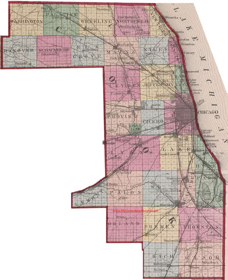 Illinois Assessor and Property Tax Records Search Directory