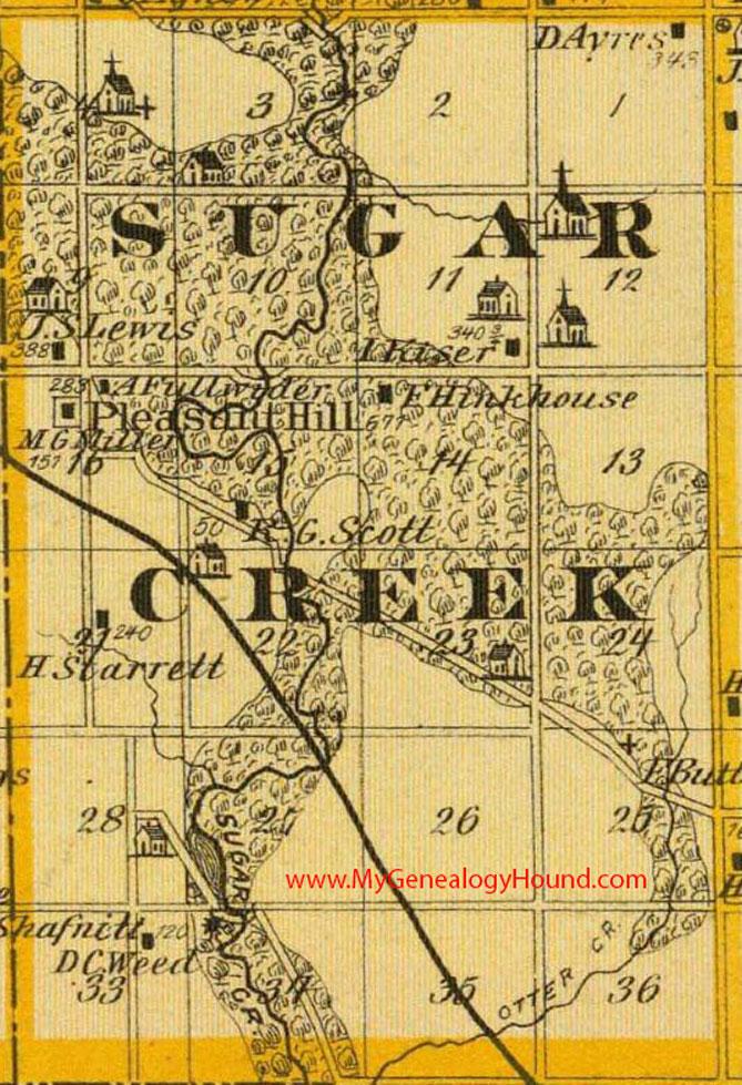 Sugar Creek Township, Cedar County, Iowa 1875 Map on map of mass by county, map of ok by county, map of oh by county, map of ny state by county, map of new york by county, map of iowa state, map of iowa town, map of iowa resources,