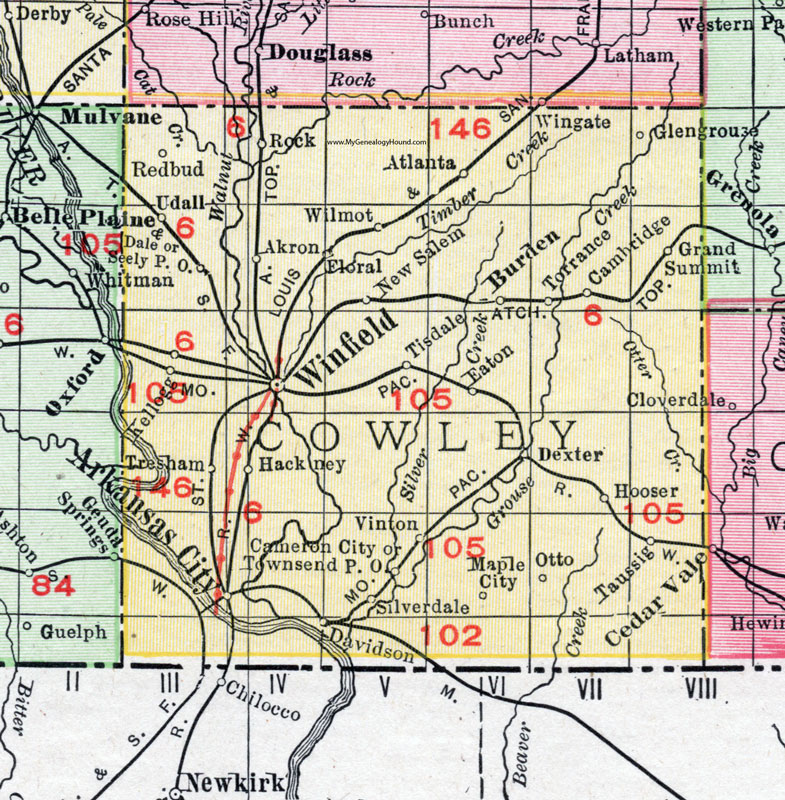 Cowley County, Kansas, 1911 Map, Arkansas City, Winfield, ney on map of all georgia cities, map of colorado and nebraska borders, map of indiana area, map tilden nebraska, map of montana, map of eastern wyoming,