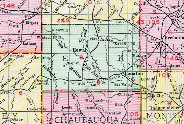 Elk County, Kansas, 1911 Map, Howard, Longton, Moiline on kansas hunting map, kansas wildlife map, kansas on a map, kansas zoo map, kansas state senate district map, kansas mines map, ft wallace kansas map, kansas history map, kansas forests map, kansas map of hillsboro ks, kansas highway map with mile markers, kansas plains map, kansas minerals map, kansas trails map, kansas food map, kansas rivers map, kansas county plat maps, cave springs campground az map, kansas sea map, kansas scenic byways map,