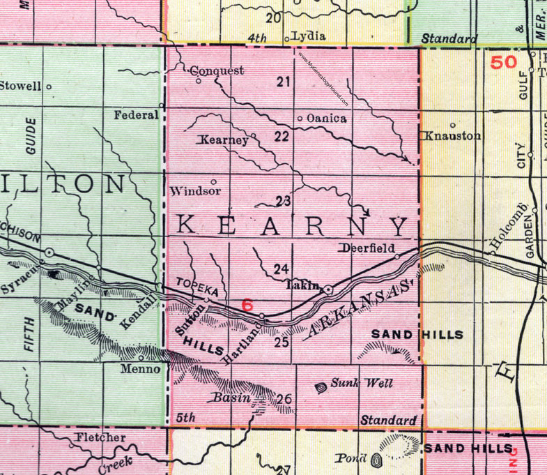 Kearny County, Kansas, 1911, Map, Lakin, Deerfield, Sutton on map of all georgia cities, map of colorado and nebraska borders, map of indiana area, map tilden nebraska, map of montana, map of eastern wyoming,