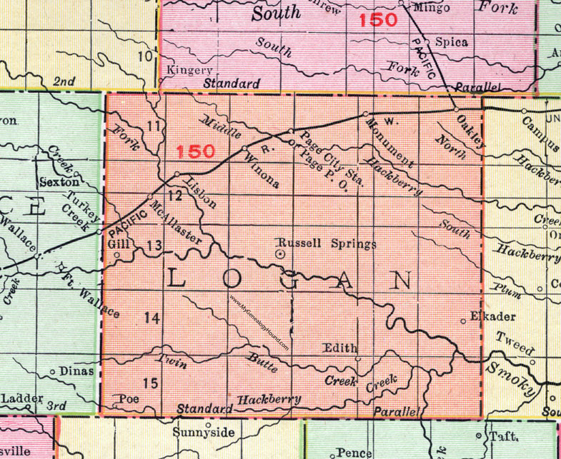 Logan County, Kansas, 1911, Map, Russell Springs, Oakley, Winona on ks district map, parsons ks map, ks city map, johnson ks map, butler ks map, lansing ks map, ks us map, ks co map, nickerson ks map, wilson lake ks map, ks turnpike map, pratt ks map, counties in ok map, ks highway map, wamego ks map, ks area code map, ks state map, ks cities map, western ks map, kansas map,