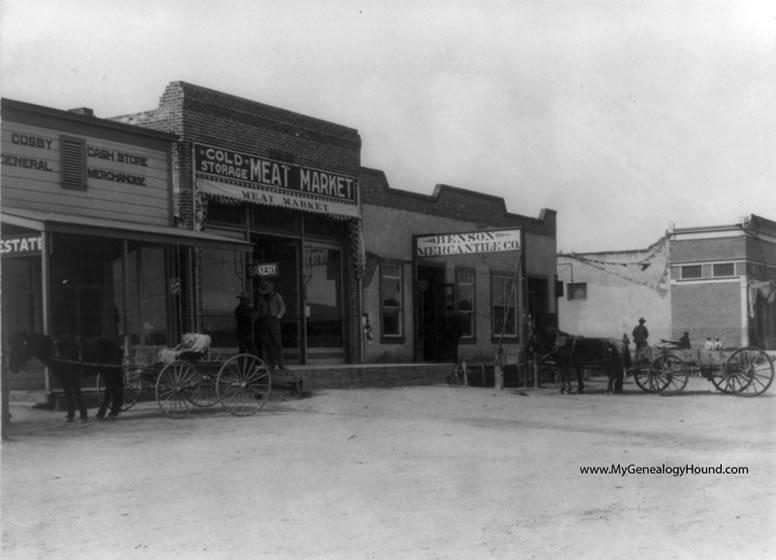 & Benson Arizona Main Street 1910 historic photo