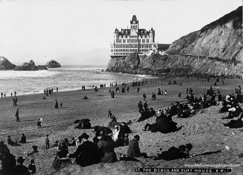 San francisco california the cliff house historic for San francisco victorian houses history