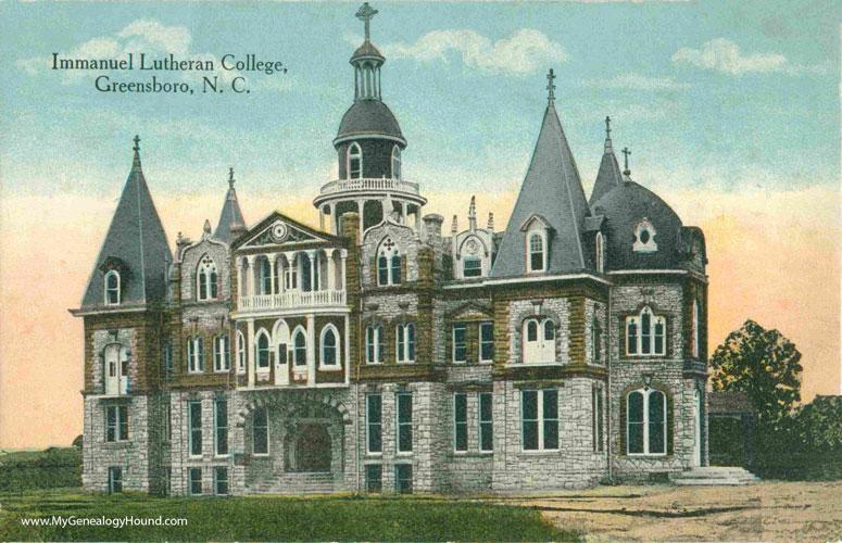 Colleges In Greensboro Nc >> Greensboro North Carolina Immanuel Lutheran College