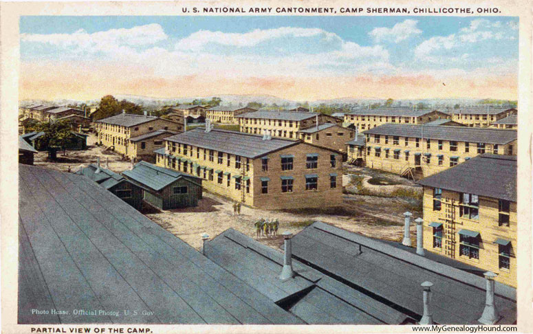 Chillicothe, Ohio, Camp Sherman, U. S. National Army Cantonment