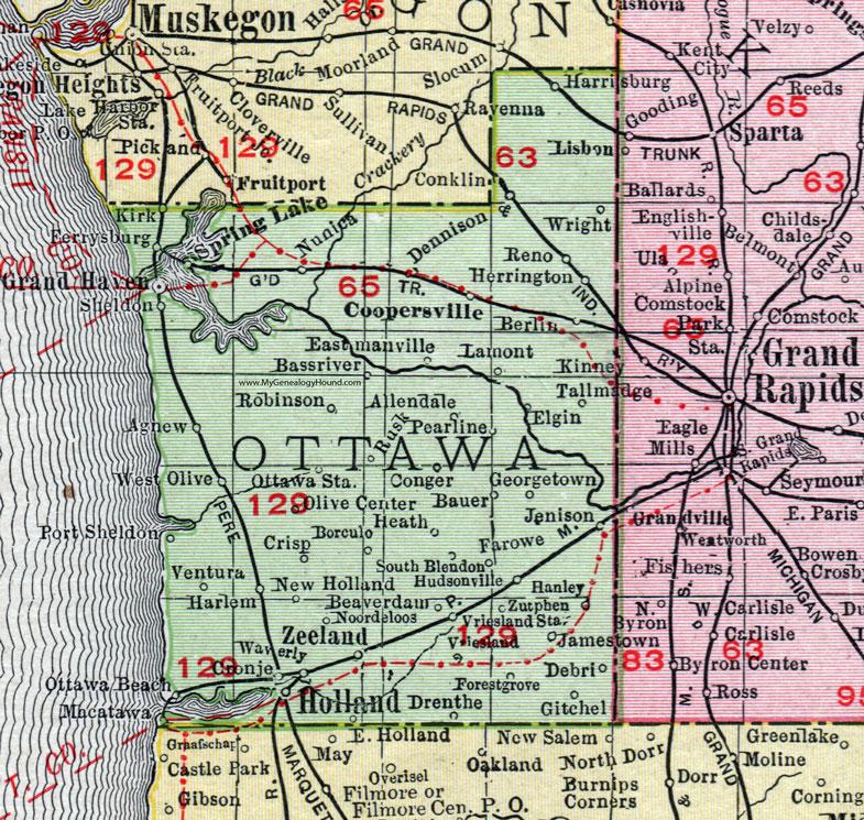 Ottawa County, Michigan, 1911, Map, Rand McNally, Grand ... on map of drayton, map of flevoland, map of vassar, map of ray, map of dorr, map of drenthe, map of minnewaukan, map of dordrecht, map of randstad, map of holland, map of turtle lake, map of saranac, map of brabant, map of leonard, map of leeuwarden, map of arthur, map of schoolcraft, map of domburg, map of ostergotland, map of big rapids,