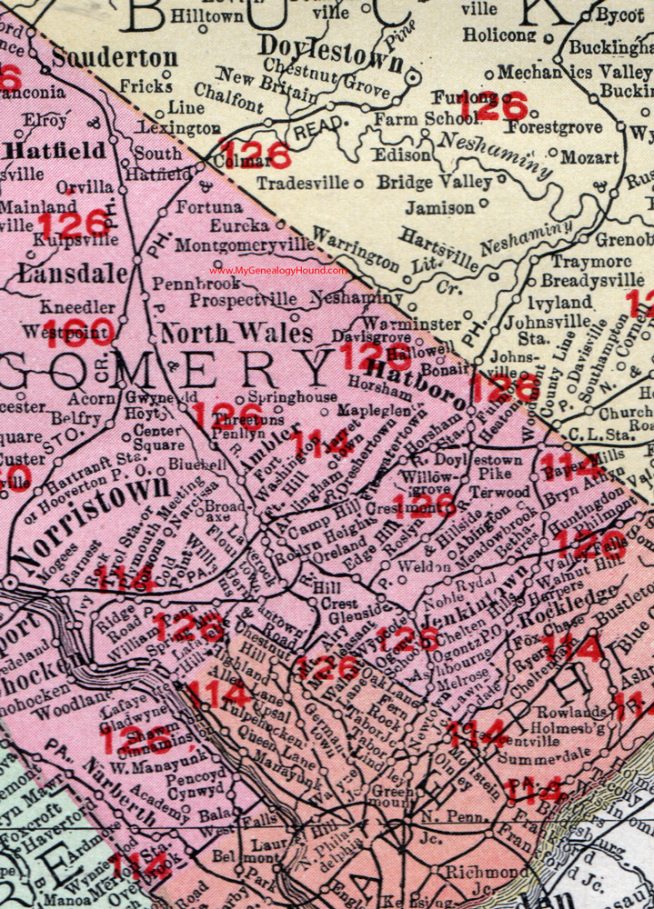 Montgomery County, Pennsylvania 1908 Map by Rand McNally ... on map of city of harrisburg pa, map of berks county pa, map of pennsylvania, map of schuylkill river pa, map of fallsington pa, map of hershey pa, map of melrose park pa, map of norristown pa, map of new castle county de, map of northampton county pa, map of lyons pa, map of glenside pa, map of narberth pa, map of delaware county pa, map of northern liberties pa, map of philadelphia, map of lehigh county pa, map of camden county nj, map of hatboro pa, map of scranton wilkes barre pa,