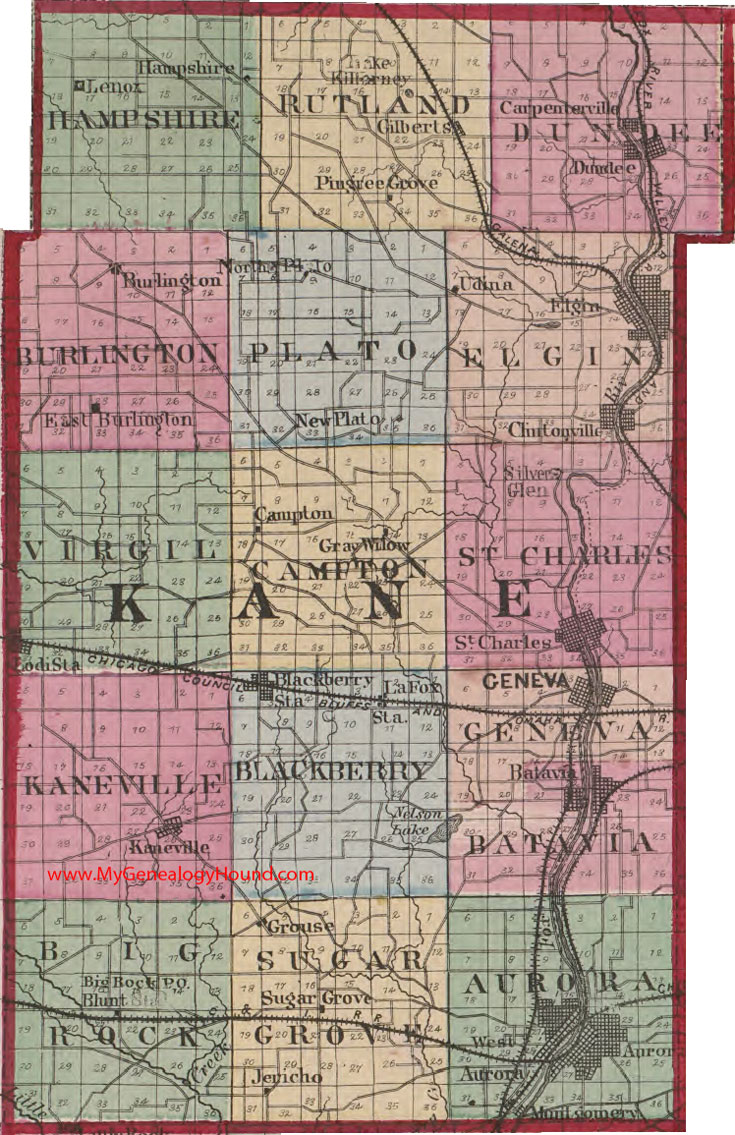 Kane County, Illinois 1870 Map on chicago il county map, kendall county il map, lake county il map, virgil township il map, illinois county map, vermilion county il map, mcdonough county il map, cook county il map, dupage county il map, will county il map, naperville il map, saint clair county il map, boone county arkansas township map, maple park il map, hampshire il map, midwestern university il map, edwards county il map, hoffman estates il map, ogle county il map, dekalb county il map,