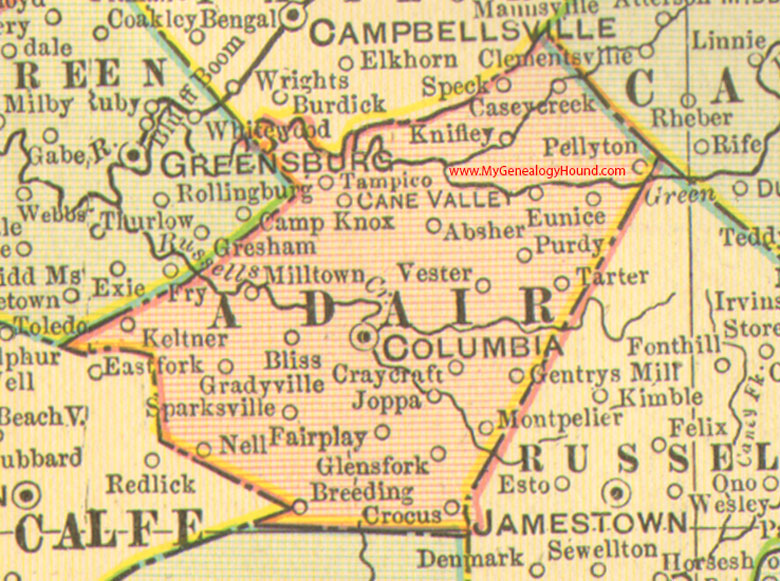 Adair County, Kentucky 1905 Map Columbia, KY on helton ky map, frenchburg ky map, jackson ky map, bardwell ky map, elizabethtown ky map, mayfield ky map, middlesboro ky map, raywick ky map, nicholasville ky map, munfordville ky map, means ky map, ledbetter ky map, madisonville ky map, mayking ky map, junction city ky map, mannsville ky map, fisherville ky map, kettle island ky map, cub run ky map, gilbertsville ky map,