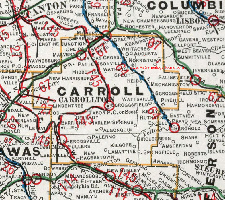 Carroll County, Ohio 1901 Map Carrollton, OH on jefferson county, mercer county, fairfield county, brown township ohio map, stark ohio map, conneaut ohio map, magnolia ohio map, carrollton ohio map, wayne county, washington court ohio map, delaware county, columbiana county, grayson county road map, north olmsted ohio map, city of columbus ohio map, jackson county, henry ohio map, lake county, barry county missouri map, west chester ohio map, monroe county, mad river township ohio map, stark county, washington county, montgomery county, ohio ohio map, clark county, tuscarawas county, new franklin ohio map, united states ohio map, franklin county, miami township ohio map, harrison county, marion county, prince george's county cities map, washington county arkansas road map, fairfield township ohio zoning map, mahoning county,