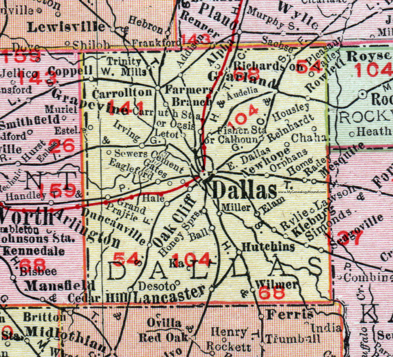 Dallas County Maps on
