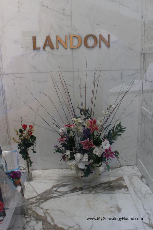 Michael Landon Grave Crypt Or Tomb Hillside Memorial